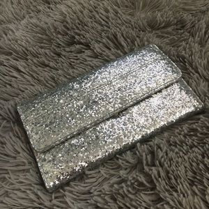Silver Adrienne Vittadini wallet